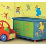 SESAME STREET Wall Decals Elmo, Big Bird, Ernie Stickers Kids Baby Nursery Decor - EonShoppee