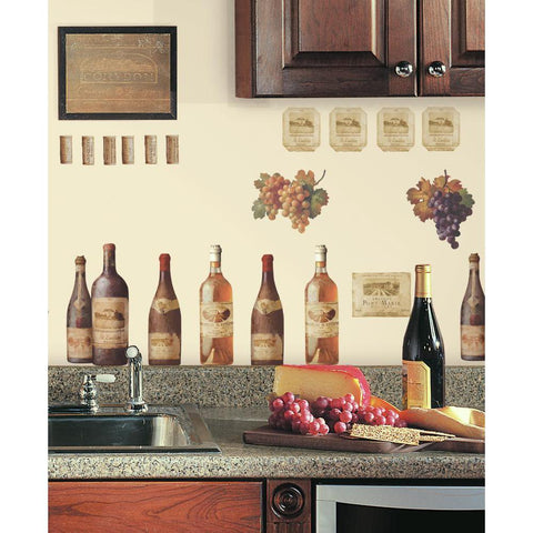 Wine Tasting Peel And Stick Wall Decals