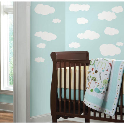 White Clouds Peel & Stick Wall Decals - EonShoppee