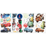 Disney CARS 2 MOVIE WALL DECALS Lightning McQueen Mater Stickers Decor