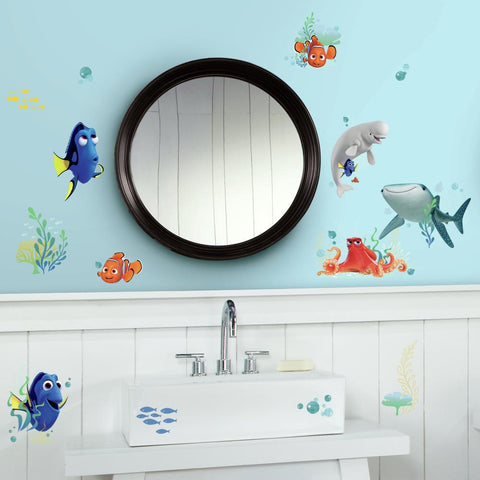 Disney Pixar Finding Dory Peel And Stick Wall Decals - EonShoppee