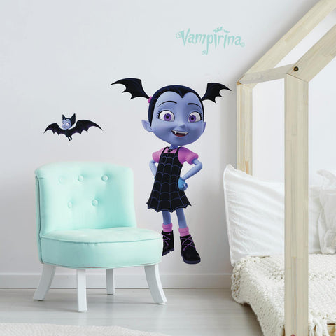 Disney VAMPIRINA GIANT Wall Decals Spooktacular Room Decor Stickers - EonShoppee