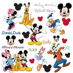 Disney Mickey Mouse Peel & Stick Wall Decals - EonShoppee