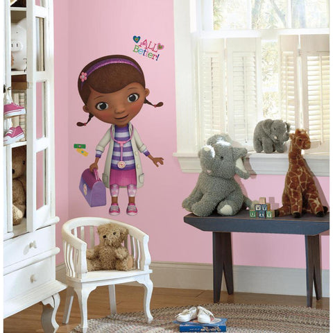 Disney Doc McStuffins Peel And Stick Wall Decals
