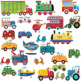 Cars And Trucks Transportation Peel And Stick Wall Decals