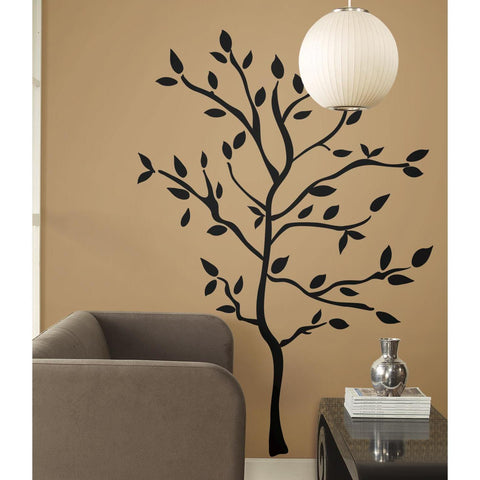 Giant TREE BRANCHES BiG Mural Wall Stickers Black Leaves Room Decor Vinyl Decals RM1