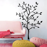 Giant TREE BRANCHES BiG Mural Wall Stickers Black Leaves Room Decor Vinyl Decals RM1 - EonShoppee