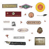 Harry Potter Signs Peel And Stick Wall Decals - EonShoppee