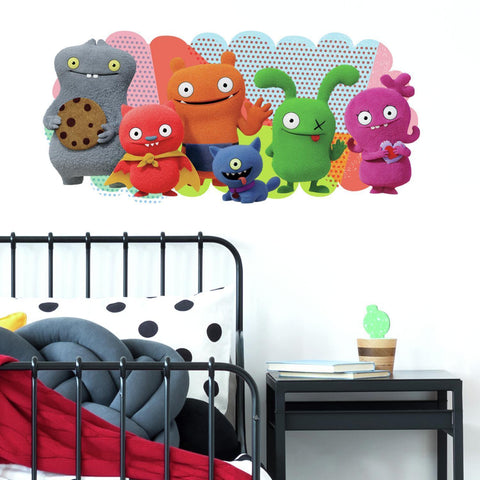 Uglydolls Peel And Stick GIANT Wall Decals - EonShoppee