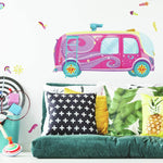 Sunny Days Bus Peel & Stick Giant Wall Decals