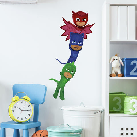 Disney PJ Masks Superheroes Peel And Stick Wall Decals - EonShoppee