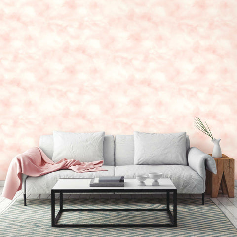 RoomMates Cloud Pink Peel & Stick Wallpaper - EonShoppee