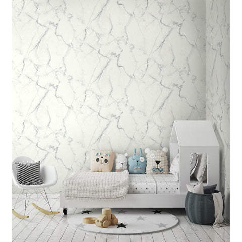 Carrara Marble Peel & Stick Wallpaper - EonShoppee