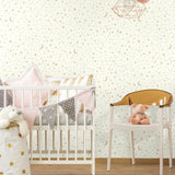 Twinkle Little Star Gold Peel & Stick Wallpaper - EonShoppee