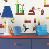 Mario Peel & Stick Wallpaper - EonShoppee