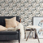 Rainforest Neutral Leaves Peel & Stick Wallpaper - EonShoppee
