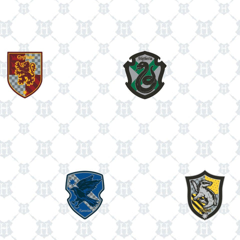Harry Potter House Crest Peel & Stick Wallpaper - EonShoppee