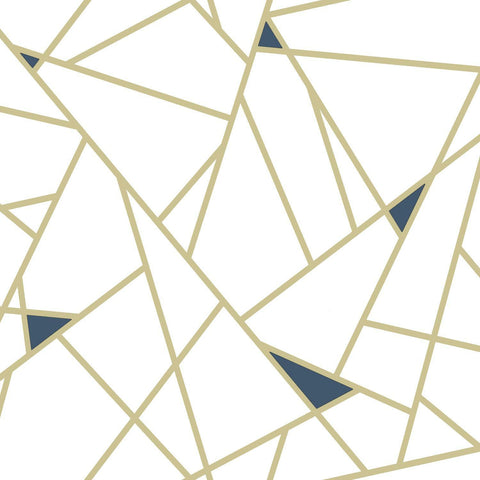 Gold Fracture Peel & Stick Wallpaper - EonShoppee