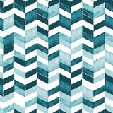 Paul Brent Watercolor Chevron Peel & Stick Wallpaper - EonShoppee