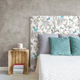 Butterfly Sketch Peel & Stick Wallpaper - EonShoppee