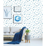Clara Jean Raindrops Peel & Stick Wallpaper - EonShoppee