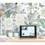RoomMates Boho Palm Peel & Stick Wallpaper - EonShoppee