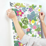RoomMates Disney Moana Jungle Peel & Stick Wallpaper - EonShoppee