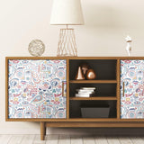 RoomMates Mod Faces Peel & Stick Wallpaper - EonShoppee