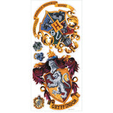 Harry Potter Hogwarts Crest Peel And Stick Giant Wall Decals - EonShoppee