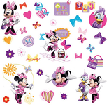 Disney Minnie Mouse Bow-Tique Wall Decals - EonShoppee