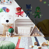 Roommates PJ Masks Peel and Stick Wall Decals with Glow - EonShoppee