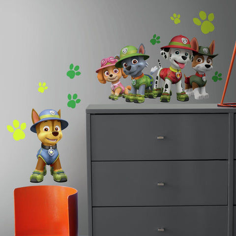 Jungle Paw Patrol Giant Wall Decals