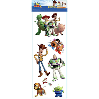 Toy Story 4 Peel And Stick Wall Decals 7 Kids Room Decor Stickers