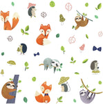 Roommates Forest Friends Peel And Stick Nursery Room Decor Wall Decals Kids Room Stickers