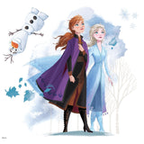 Disney Frozen 2 Giant Elsa Anna Olaf Wall Decals - Frozen II Wall Stickers - EonShoppee
