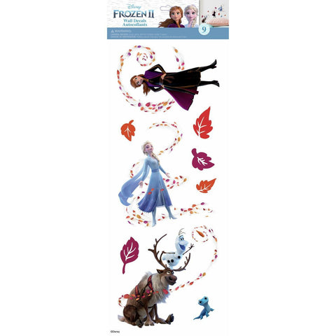 Disney FROZEN 2 II Wall Decals 9 Peel & Stick Girls Room Elsa Anna Sticker Decor - EonShoppee