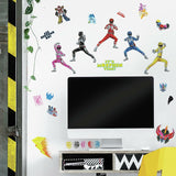 Power Rangers Peel And Stick Wall Decals - EonShoppee
