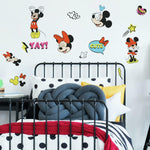 Mickey And Minnie Mouse Peel & Stick Wall Decals