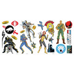 GI Joe Retro Peel And Stick Wall Decals - EonShoppee