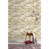 Natural Stacked Stone Peel And Stick Wallpaper - EonShoppee