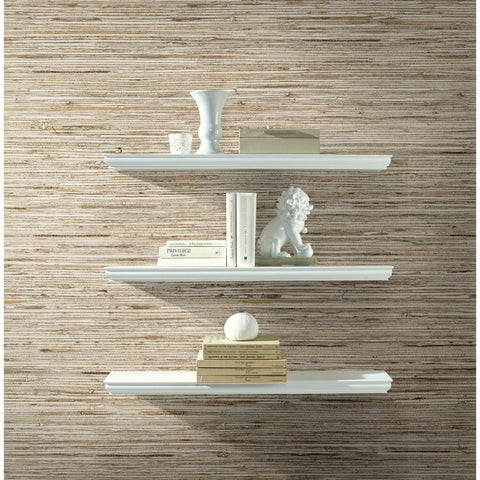 Faux Grasscloth Peel & Stick Wallpaper - EonShoppee