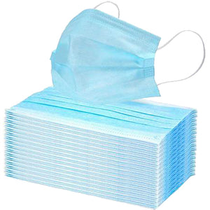 3-PLY Disposable Face Coverings (50 per carton)