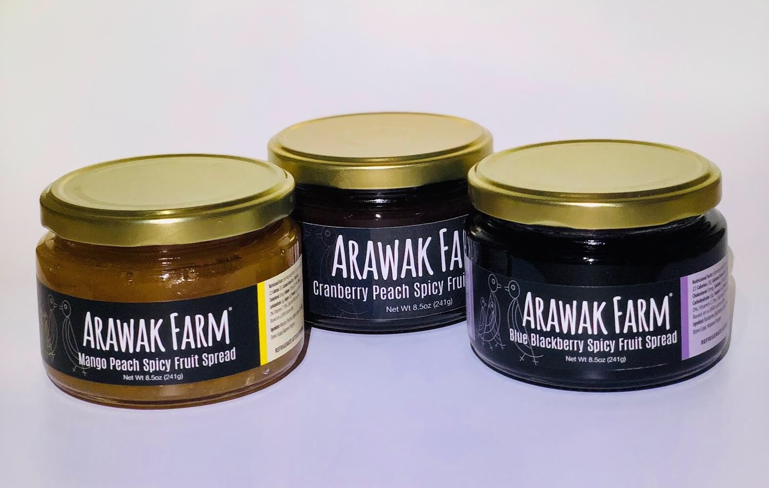 Arawak Farm Spicy Fruit Spreads