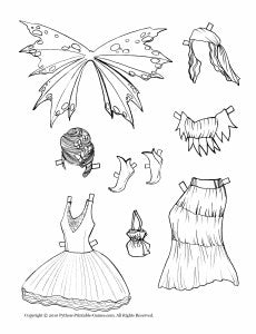 Fairy Dress-Up Paper Dolls