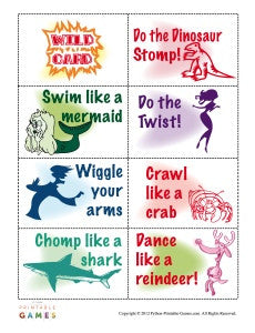 Follow The Leader Printable Games