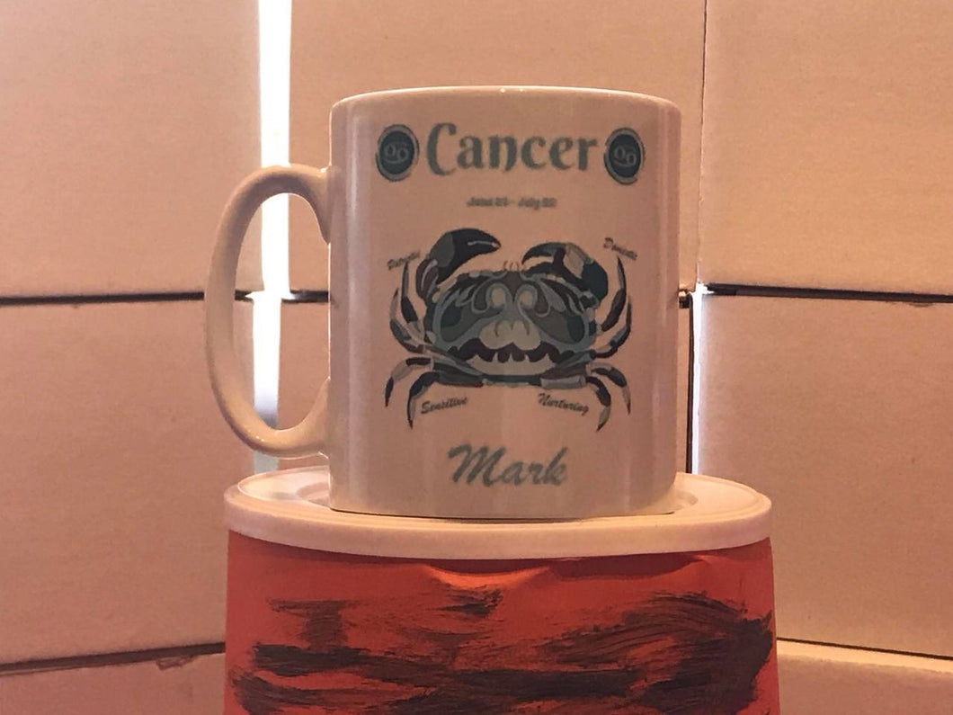 Cancer Mug Personalised - On The Merch
