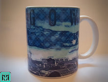Load image into Gallery viewer, Glasgow Skyline Tartan Mug - On The Merch