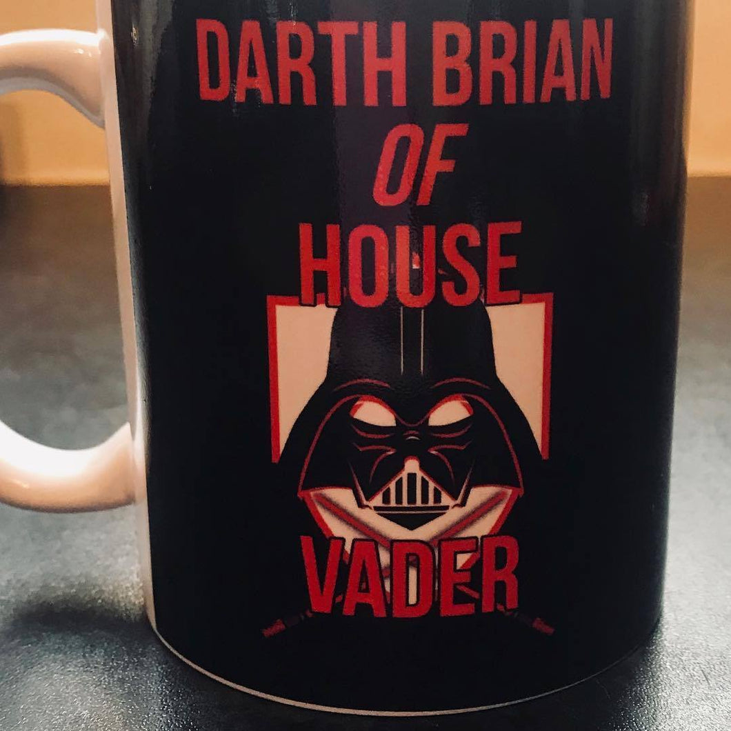 House Vader Personalised Mug - On The Merch