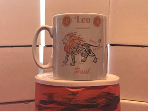 Leo Mug Personalised - On The Merch