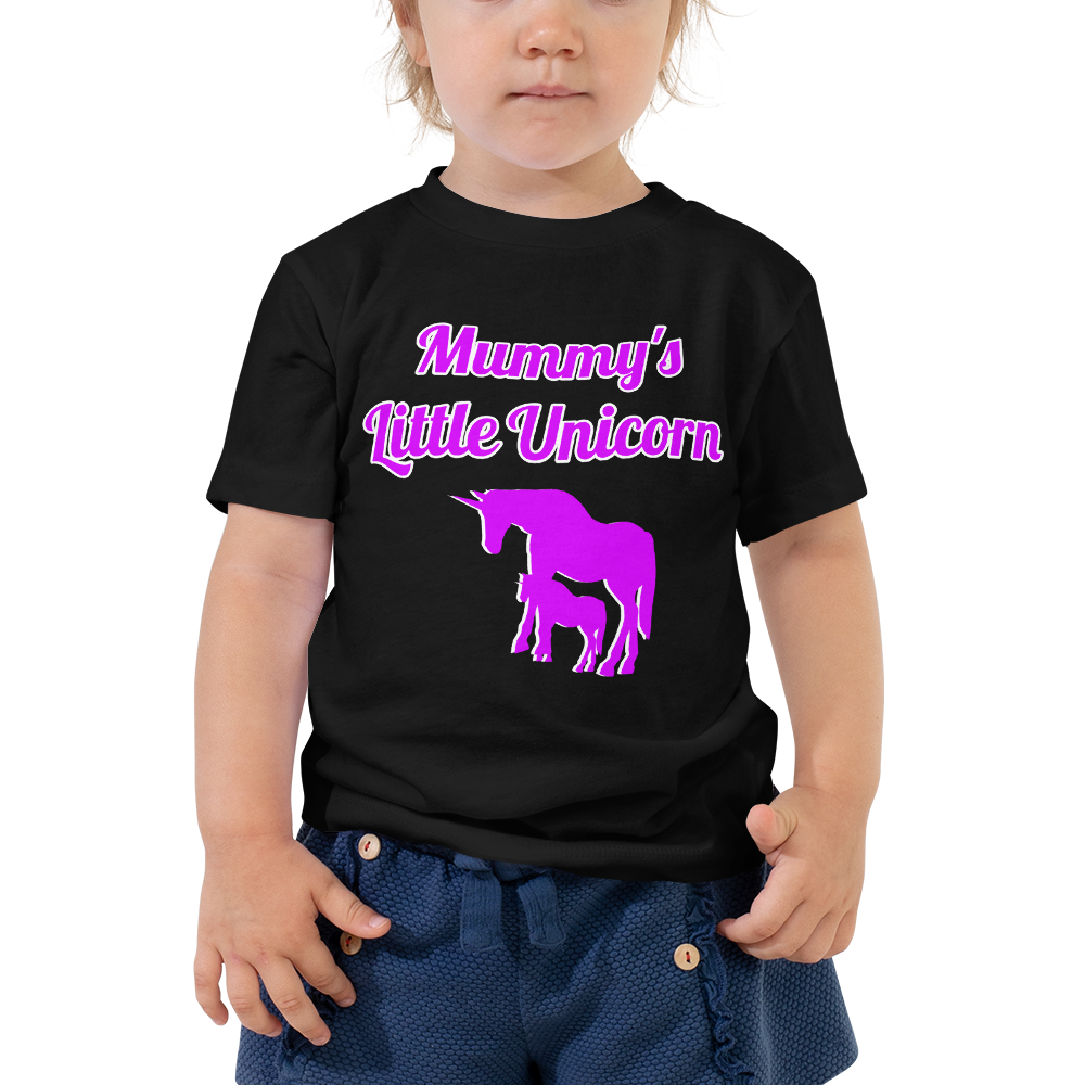 Mummy's Little Unicorn T-Shirt